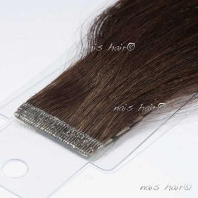 Tape Hair Extensions #2 (Darkest Brown)