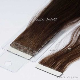 Tape Hair Extensions #4 (Dark Brown)