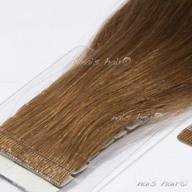 Tape Hair Extensions #6 (Medium Brown)