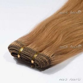 Hair Weft Extensions #27 (Strawberry Blonde)