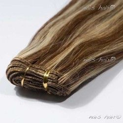 Hair Weft Extensions #4/613 (Mixed Color)