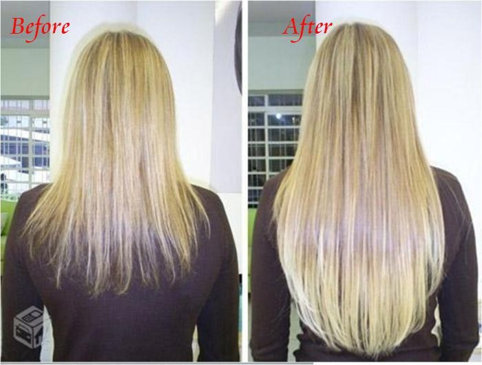 Before And After Pics Of Hair Extensions For Short Hair 70