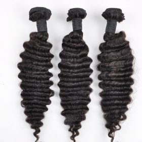 Brazilian hair weft-deep wave-1