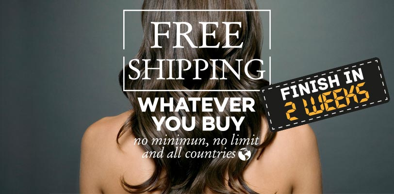 free shipping hair extensions