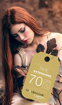 tape in hair extensions promotion